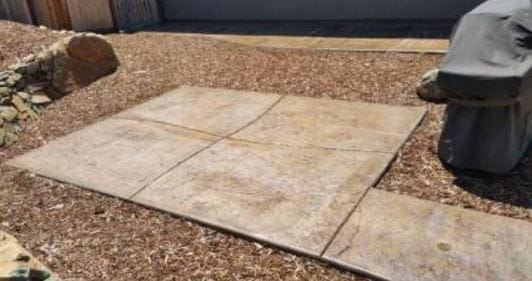 concrete stamped roseville