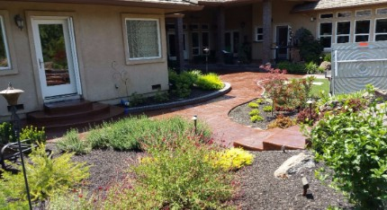 Picture of a landscaping masonry in Granite Bay