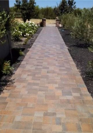 stamped concrete walkway roseville