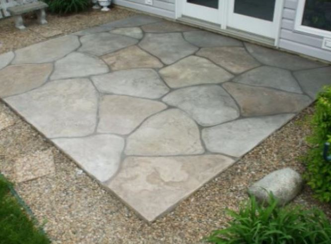 a picture of a stone pavers patioin antelope, ca