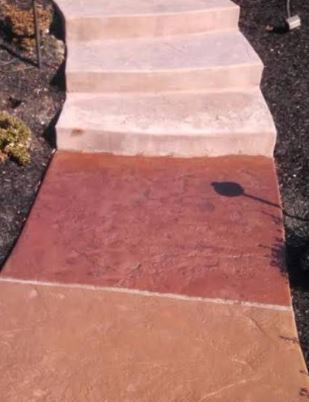 an image of a walkway project in antelope, ca