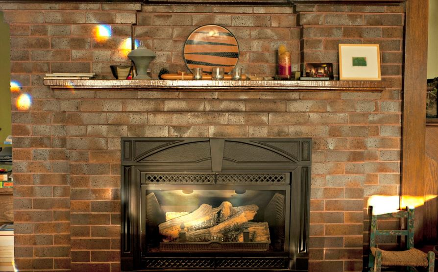 brick fireplace roseville ca