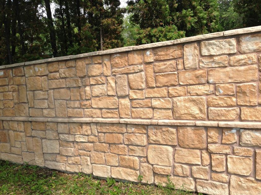 brick retaining wall roseville ca